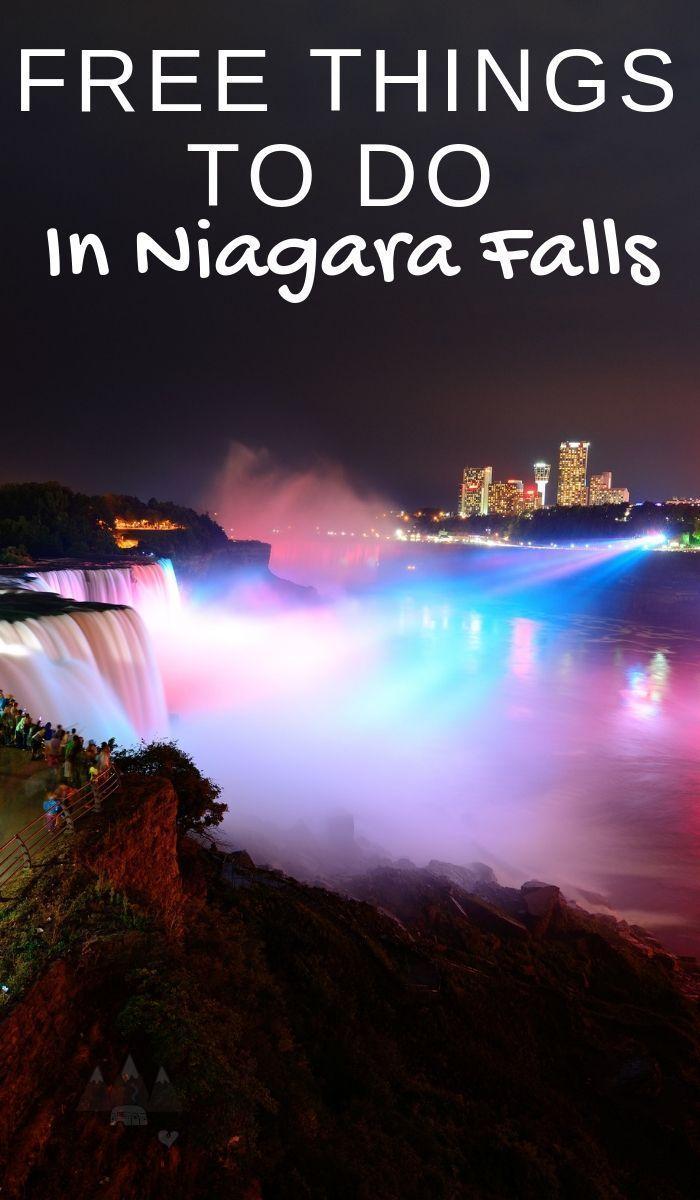 20 Fun and Free Things to do in Niagara Falls New York #autumninnewyork