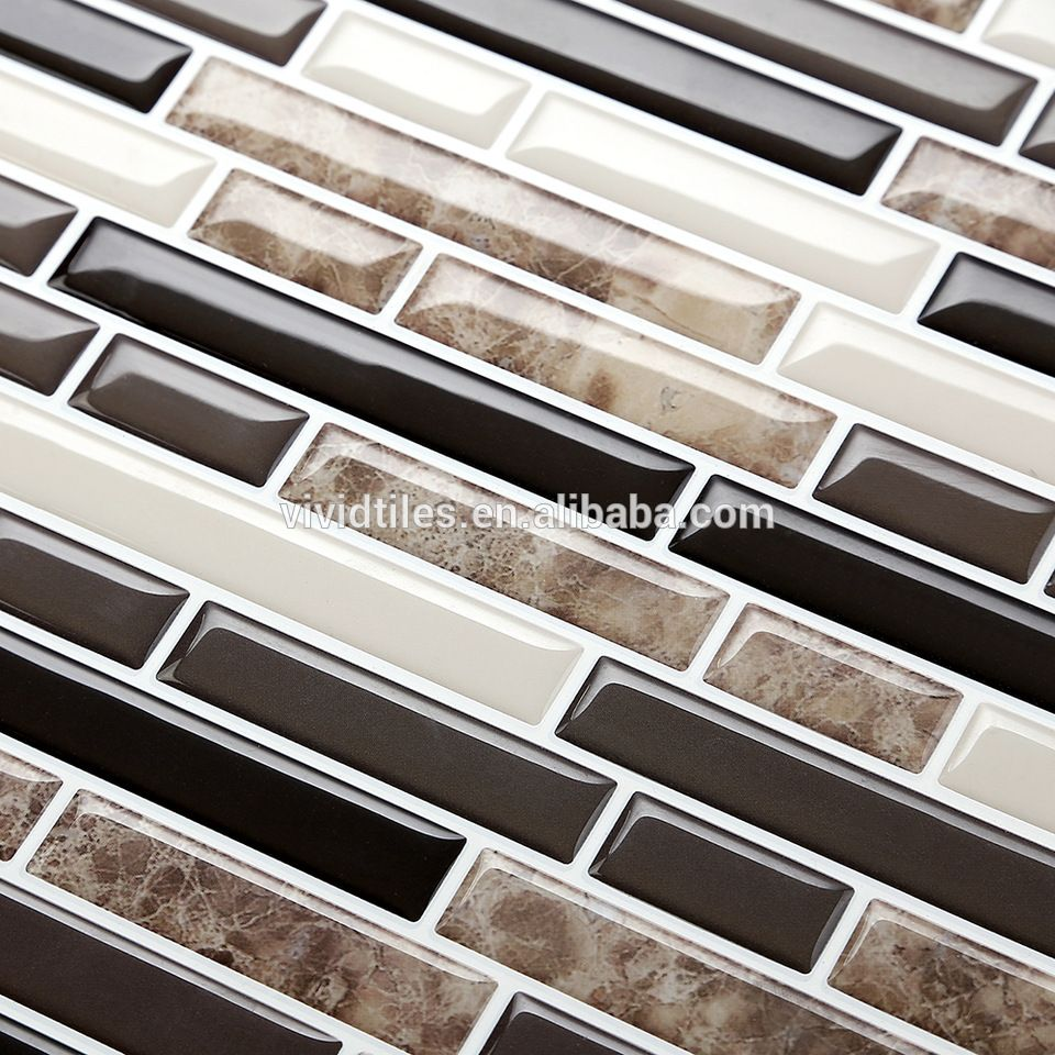 3d self adhesive peel stick wallpaper ceramic mosaic tile for 3d self adhesive peel stick wallpaper ceramic mosaic tile for kitchen and bathroom backsplash dailygadgetfo Image collections