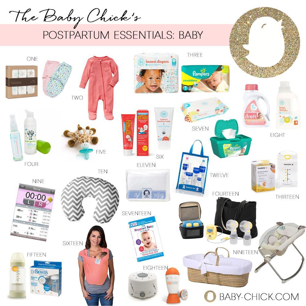 Postpartum Essentials for Mom and Baby | Baby girl ...