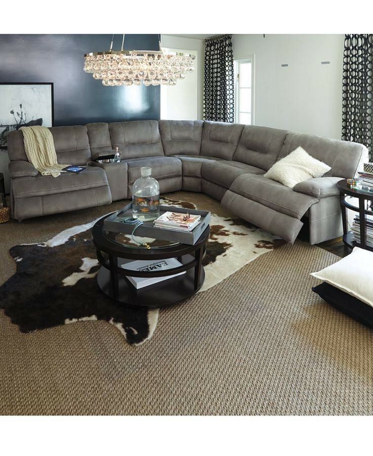 Pin By Nancy Timm On Furniture Sectional Sofa With Recliner Sectional Sofas Living Room Power Reclining Sectional Sofa