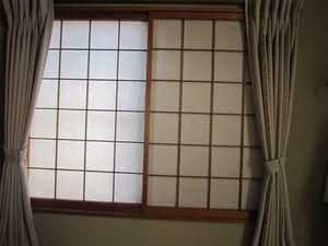 low priced 8f68b e9088 浜松市北区三方原町 和室に遮光カーテン施工例 | 和室インテリア ...
