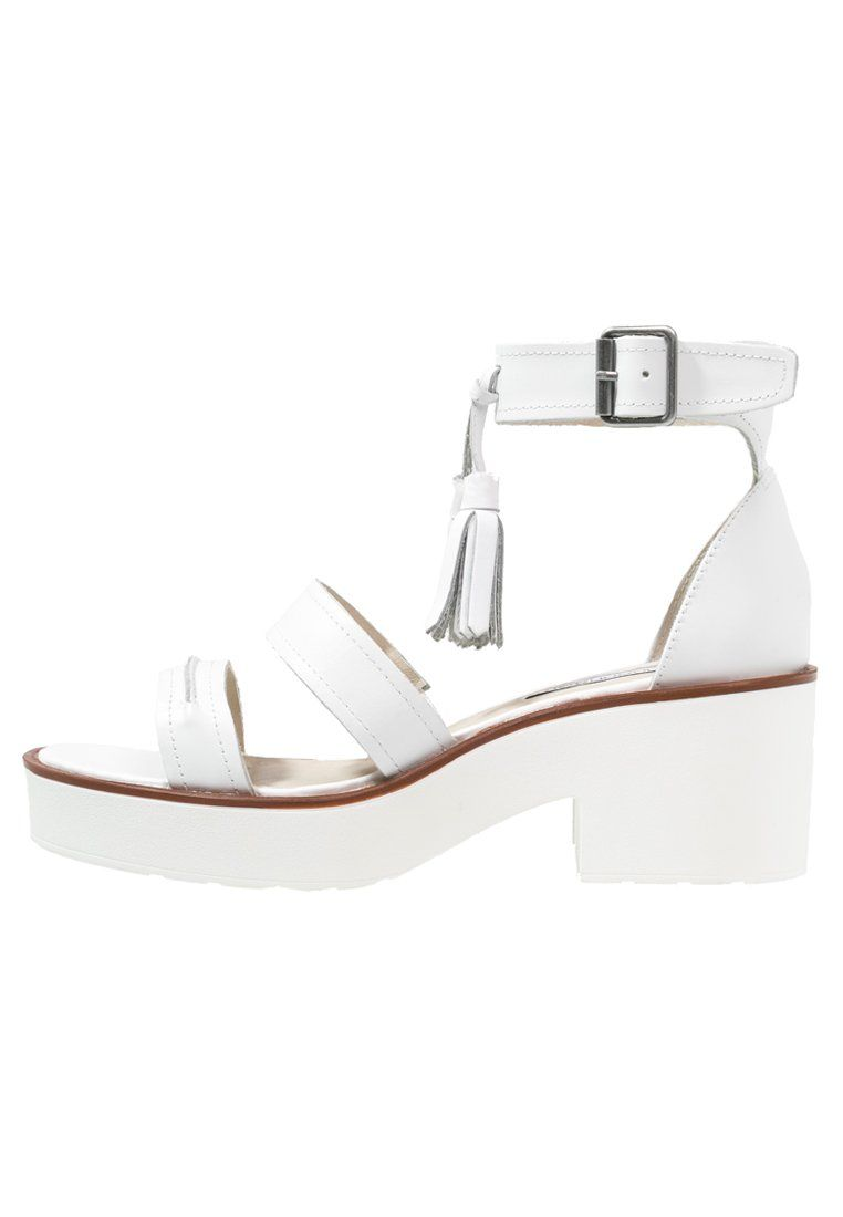 Pelle Zalando Superiore Su Scarpe Plateau It Windsor Con Parte White Smith Materiale Sandali q4Z07f