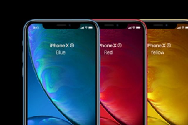 This is a vector psd iPhone XR Mockup with the 6 different ...