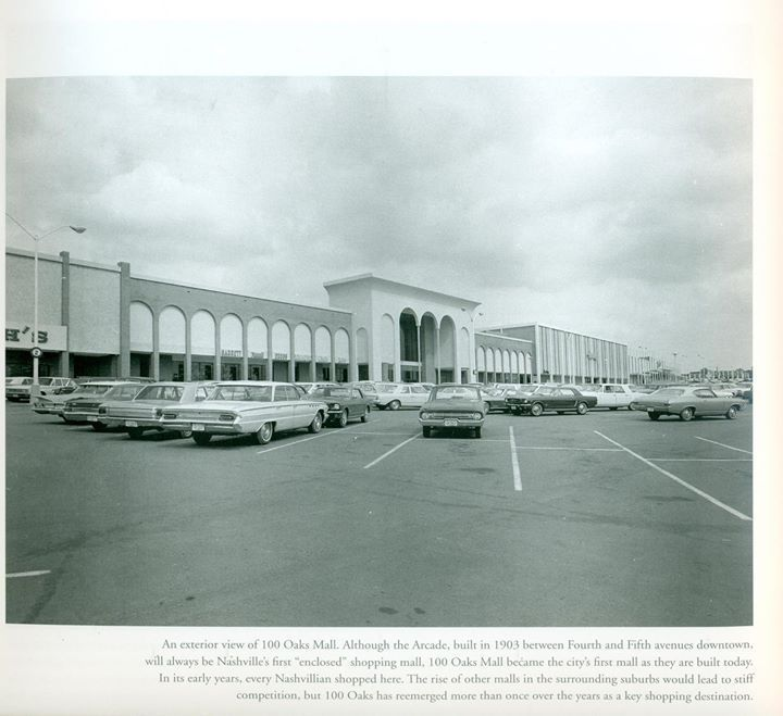 100 Oaks Mall Nashville, TN   Growing Up   Music city