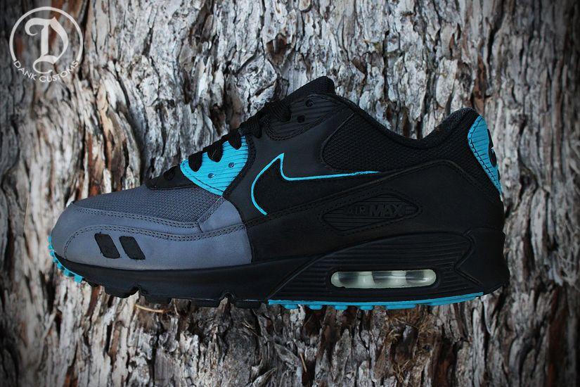 "Nike Air Max 90 ""Leatherback"" Custom | KicksOnFire.com"