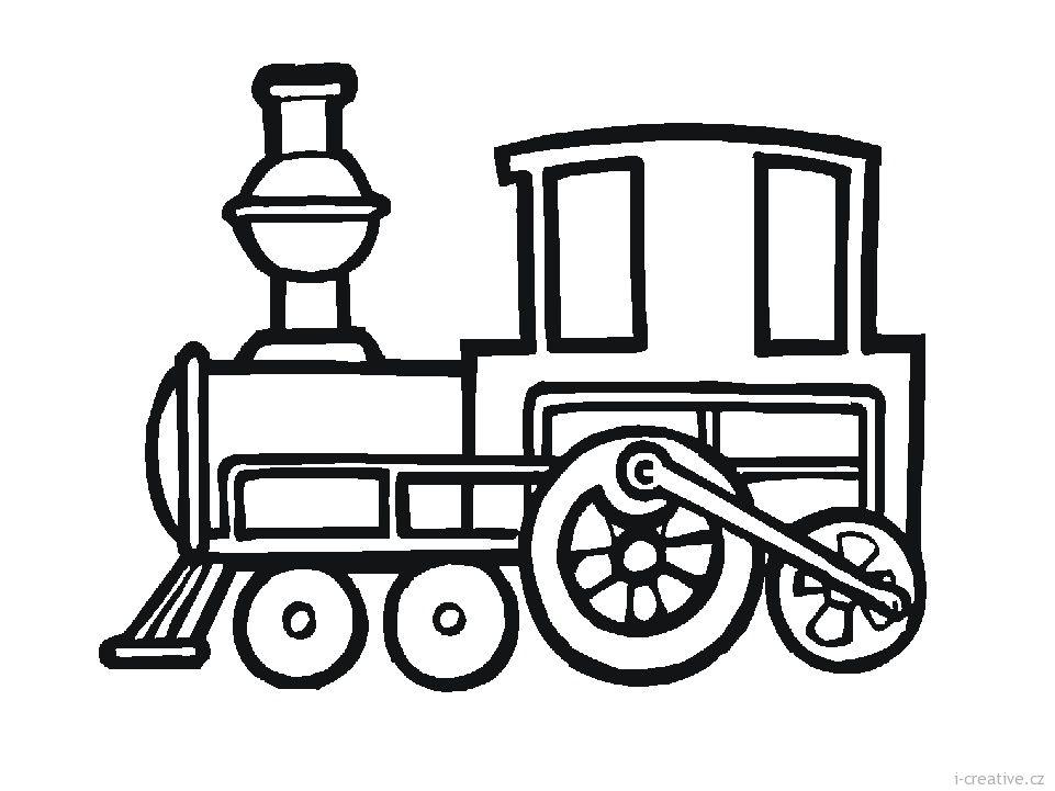 kreslený vlak - Hledat Googlem Tatoo, Bezplatné Omalovánky