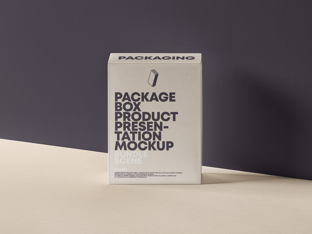 Download Psd Product Packaging Box Mockup Free Mockup Box Mockup Box Packaging Branding Design Packaging