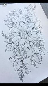 Best Flowers Drawing Peony Floral 40 Ideas  Beste Blumen Zeichnung Pfingstrose Floral 40 Ideen    This image has get 13 repins.    Author: Erin Cox #B…