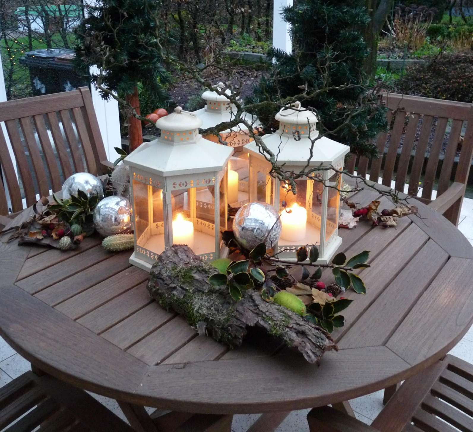 15+ Winterdeko Garten Selber Machen