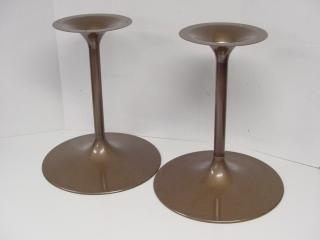 Original Bose 901 Speaker Stands Tulip Pedestal Series V Rare Bronze