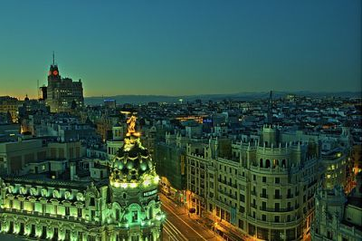 Madrid. When I win the Lotto I'll have a second home in Madrid!!