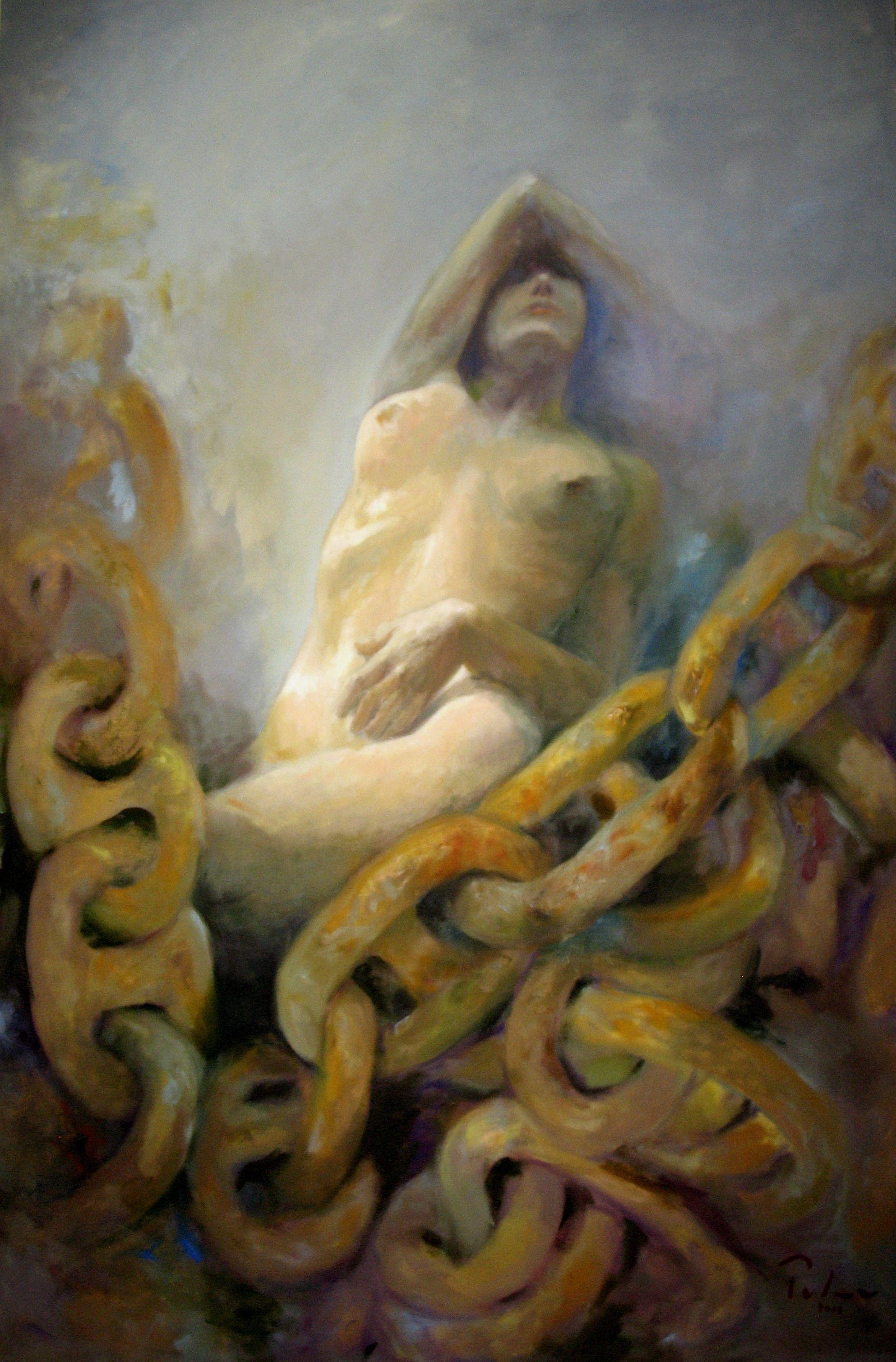"Series: '""PASSION AND FANTASY"" - Oil on canvas - 160x110 cm Artist: Fernando Palma"