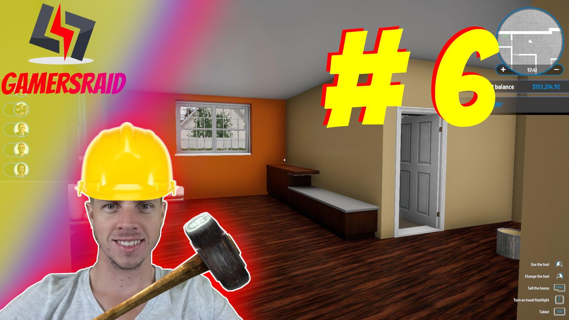House Flipper Complete Bulldoze And Rebuild Part 6