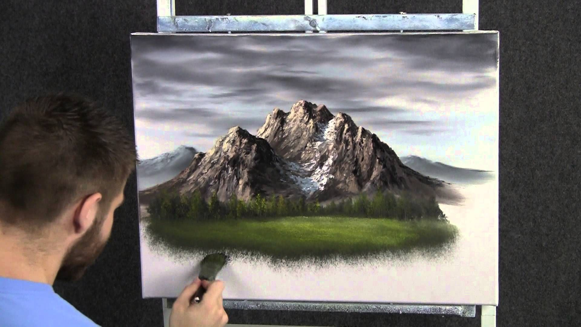 Aprender A Pintar Cuadros Modernos Paint With Kevin Hill Meadow Of Flowers Pintura