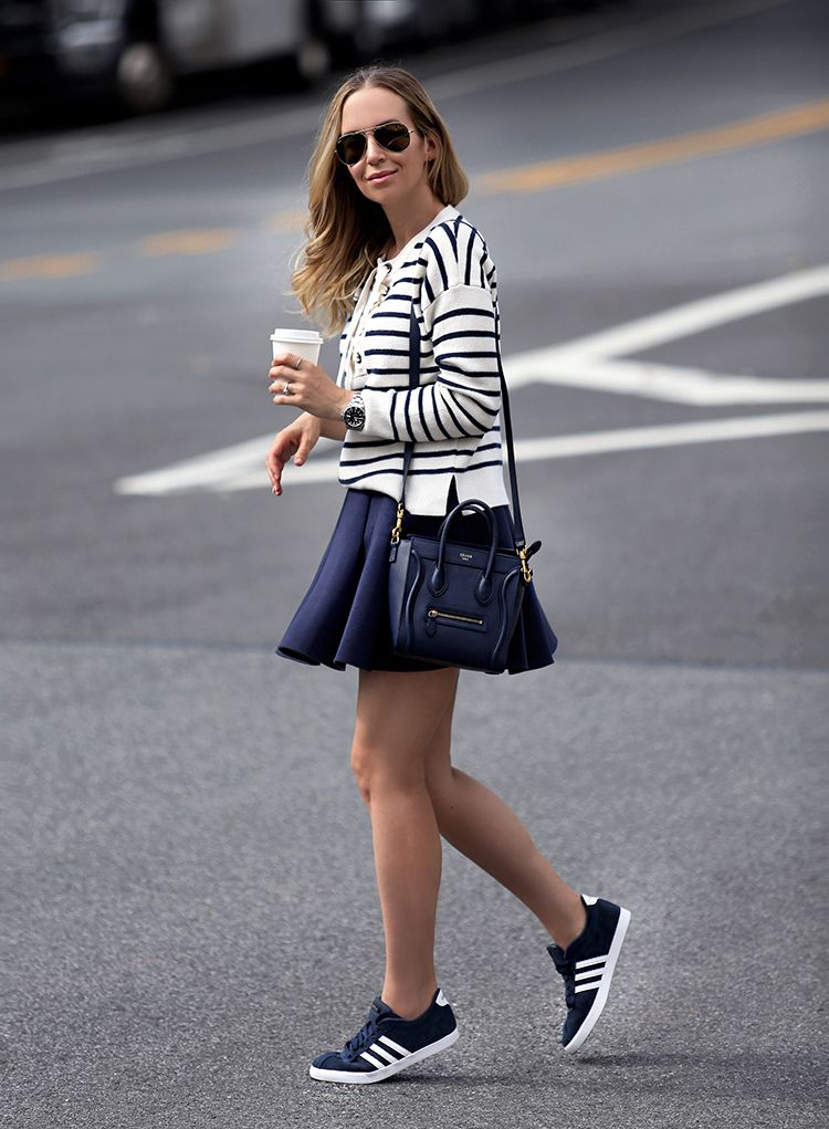 #OOTD: Brooklyn Blonde Puts a Sporty Spin on Nautical ...