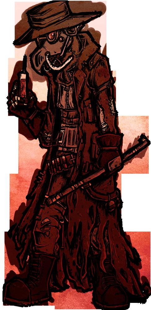 Cyberpunk Plague Doctor by Skittycat