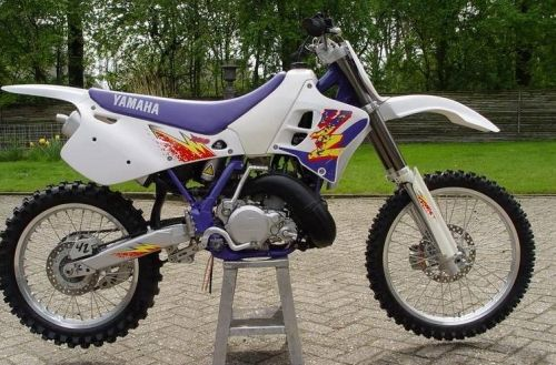 1995 Yz250 This Bike Was My Favorite Ended Painting It Blue With