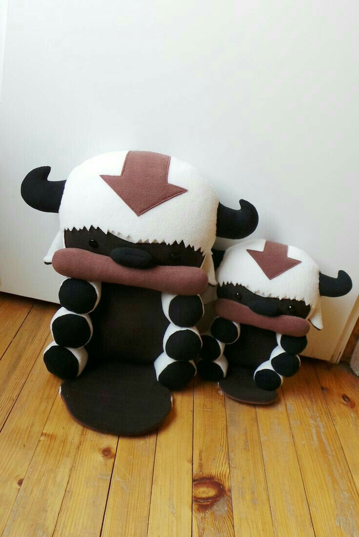 Appa, plush toy, stuffed animal, cute, Avatar the Last