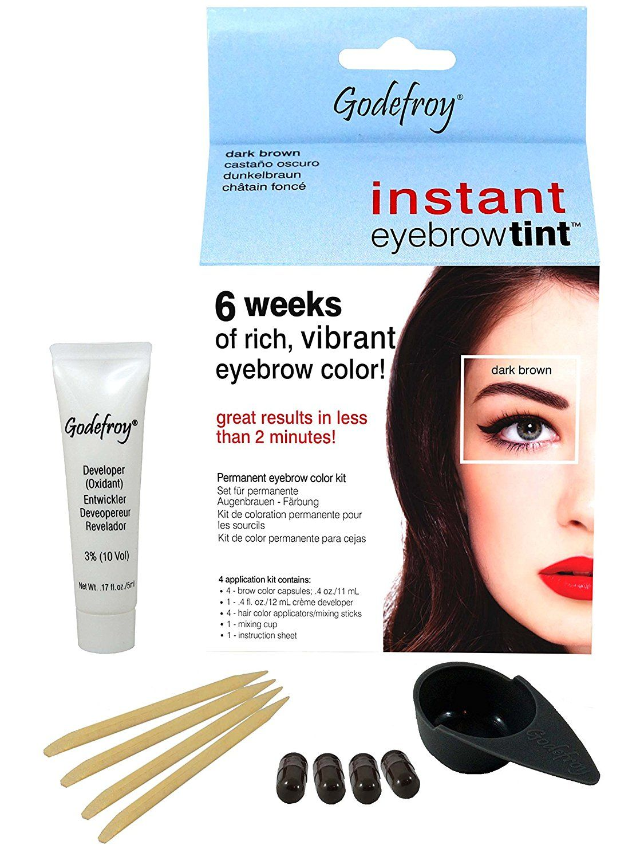 Godefroy Instant Eyebrow Tint Blister Dark Brown Blister