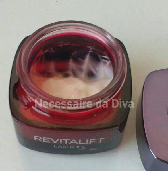 Creme facial Revitalift Laser X3-resenha. – Necessaire da Diva