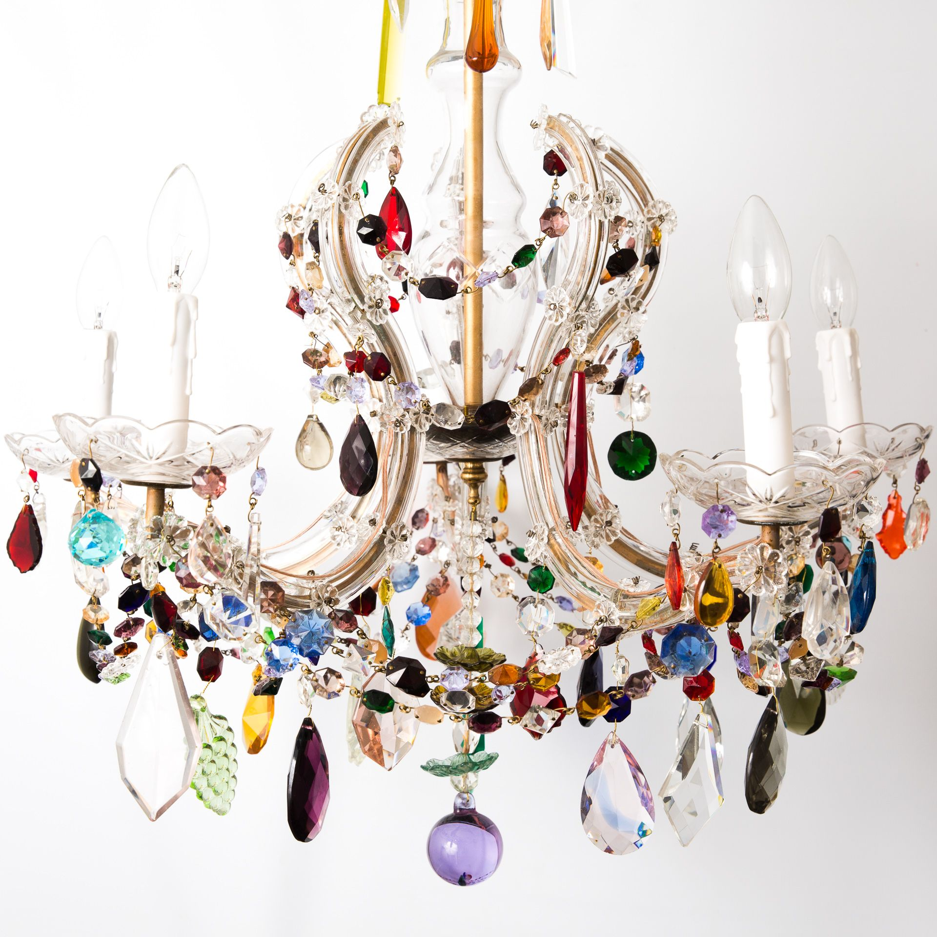 This Is Such Pretty Chandelier And Should Be Seen To Appreciated Description From Vintagechandeliers