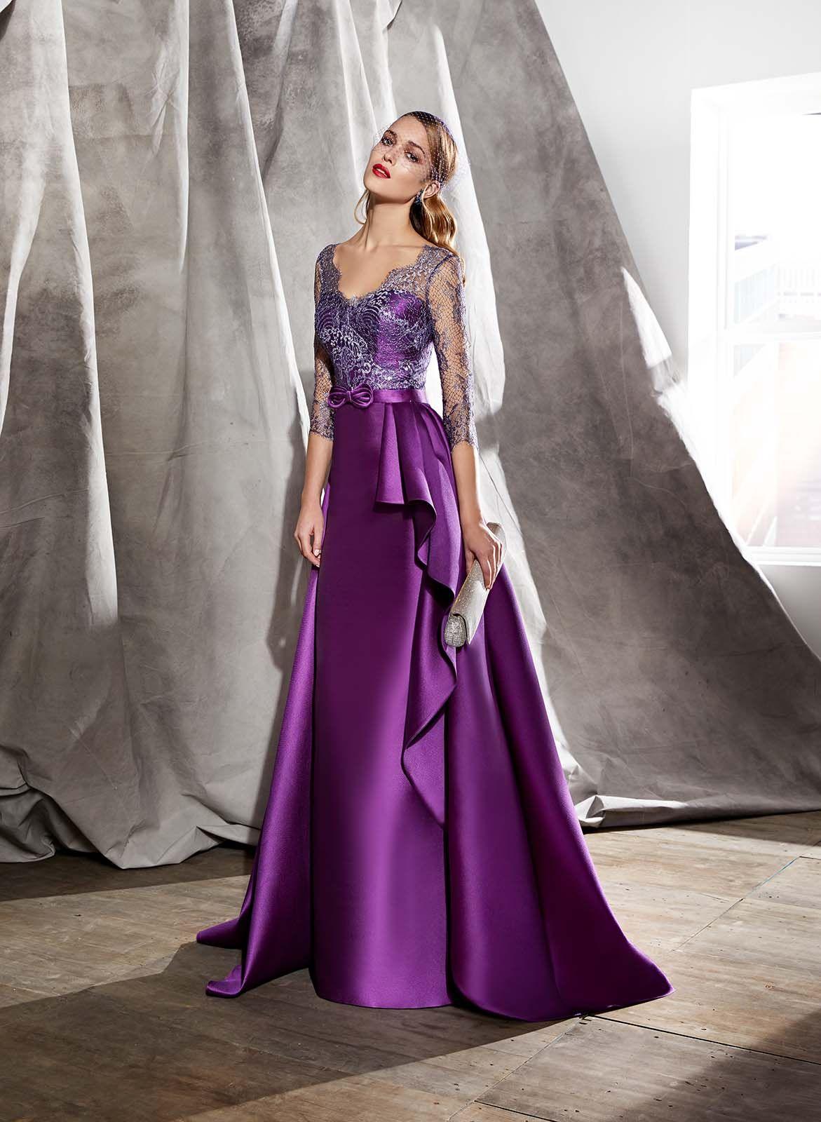 Vestido de Madrina de Valerio Luna (VL4802), largo | Moda ...