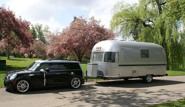 Mini Clubman W Airstream Can The Mini Really Pull An Airstream