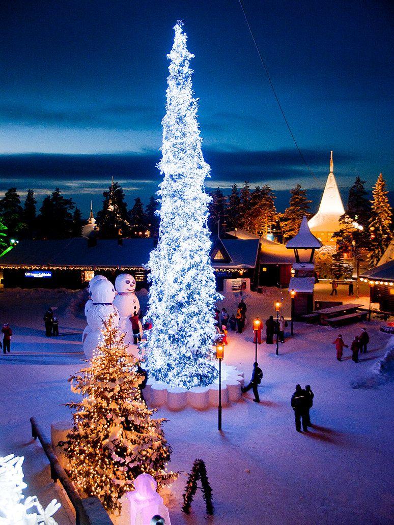 Santa Claus Village, Rovaniemi, Finland | Winter Wonderland ...