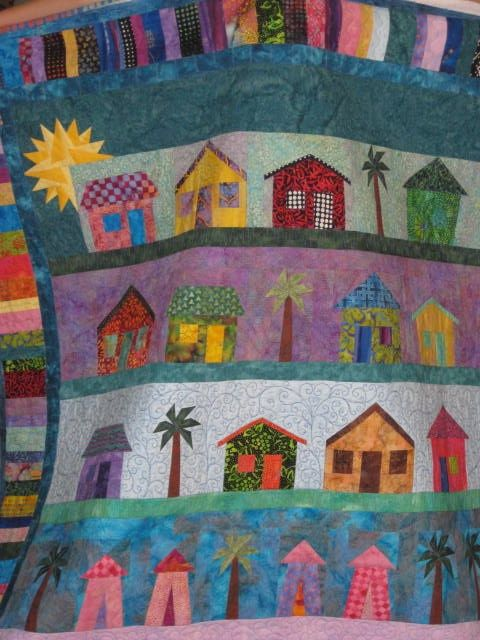 I am looking for quilt patterns to decorate our beach home on the island of Eleuthera, Bahamas