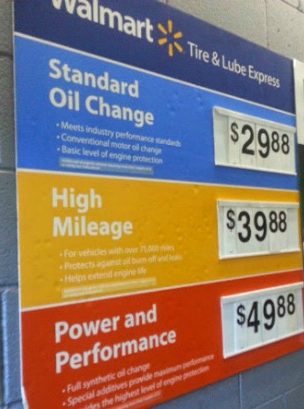 Walmart Oil Change Price >> Get Your Oil Changed And Do Your Shopping At Walmart