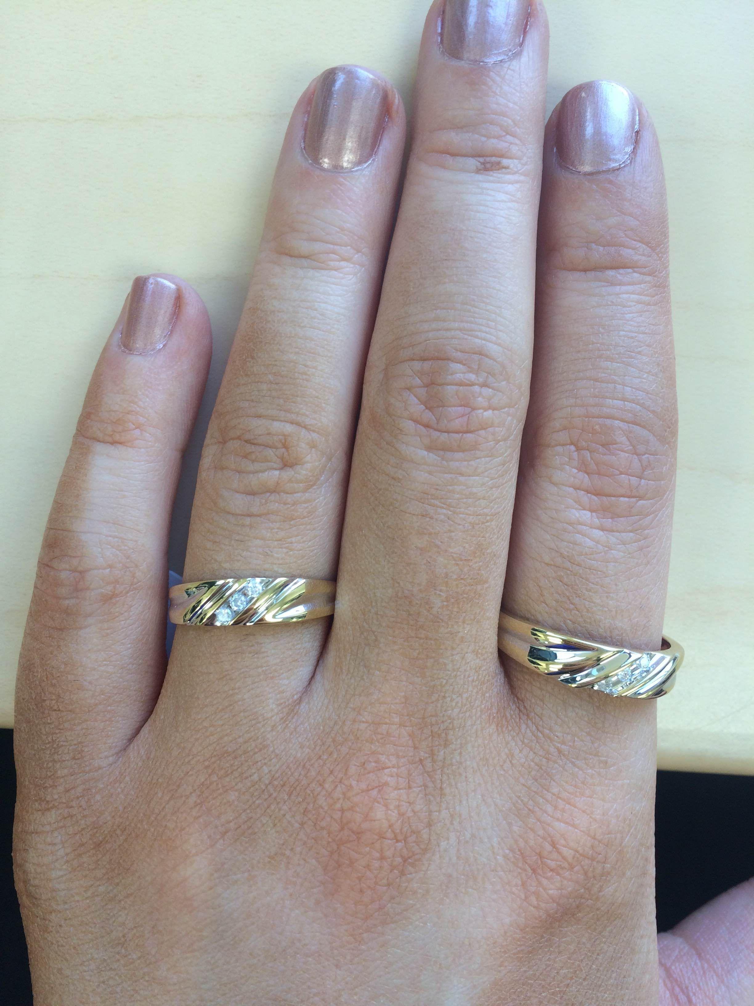 Which Hand Wedding Ring Female.Rings On Hand Wedding Band Set Wb508y Ladies Wedding Band Mens