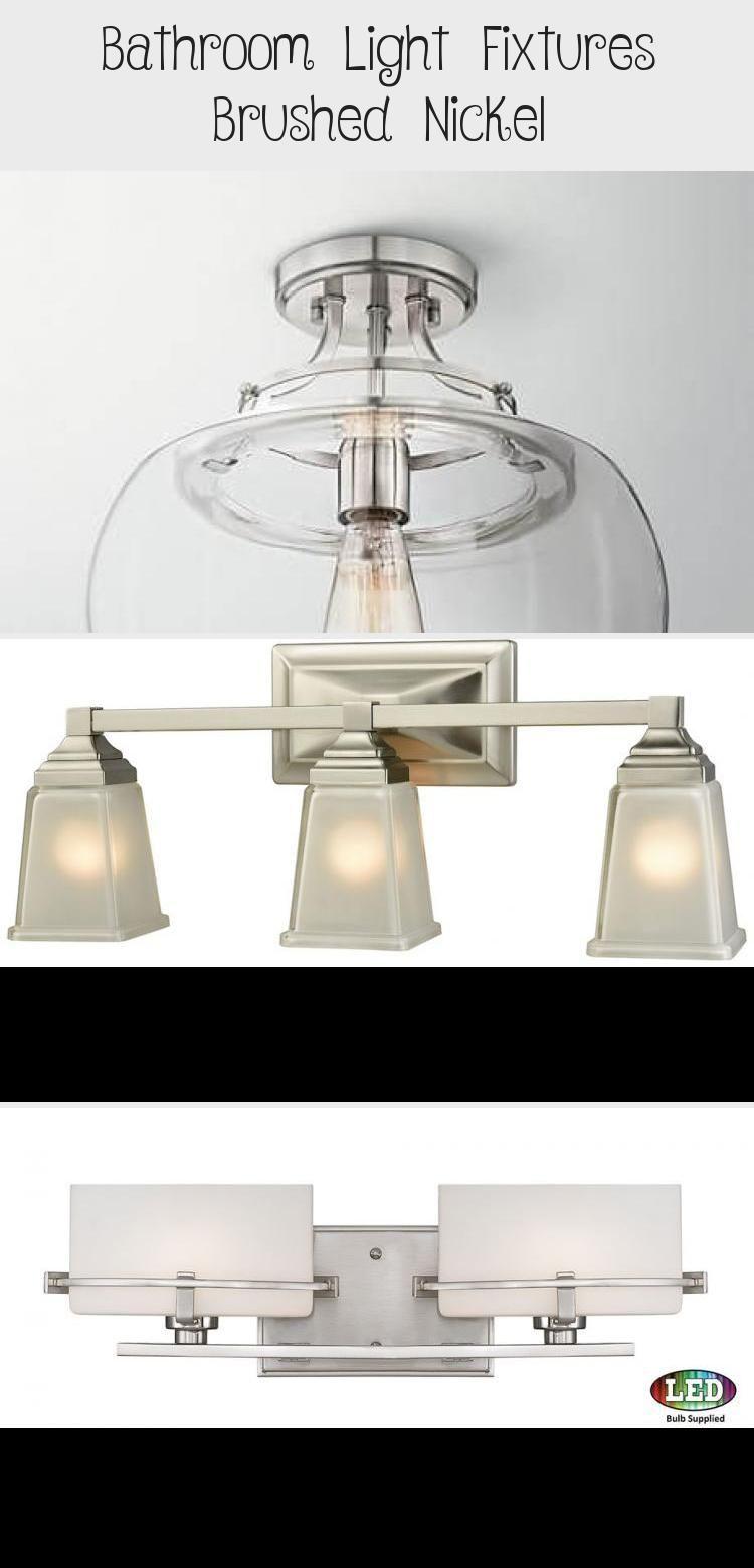 Photo of Bathroom Light Fixtures Brushed Nickel – Bathroom