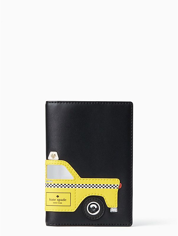 Passport Holder With New York Taxicab Theme With Images