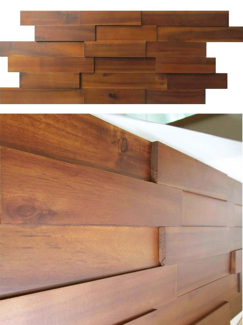 View Our Selection Of Mosaic Wood Paneling We Carry Walnut Teak Acacia Ash And Oak Get Wall Design Ideas Inspirations For Your Accent