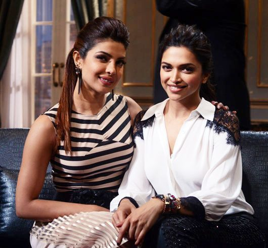 Reel Queens Real Friendship Bff S In B Town Deepika Padukone Bollywood Fashion Priyanka Chopra