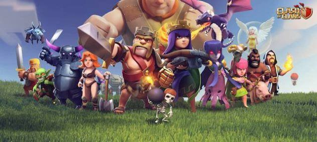 Clash of Clans Unlimited Mod/Hack v7 200 19 Latest APK