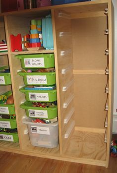 Diy Toy Storage Plywood Box With Slide