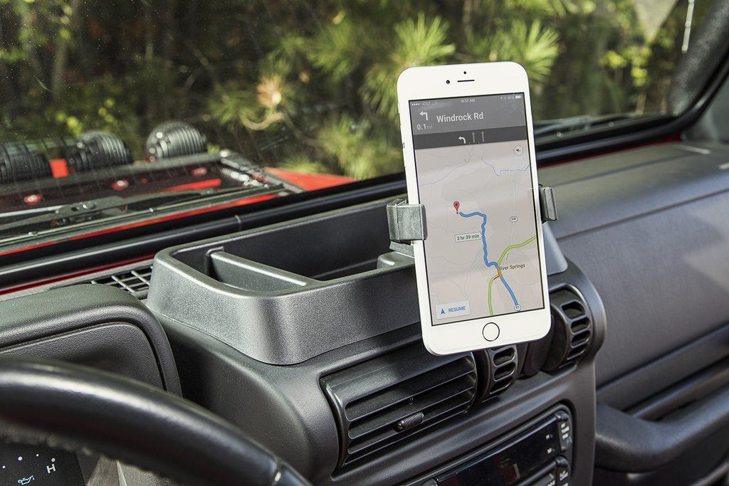 Dash Multi Mount With Phone Holder By Rugged Ridge 97 06