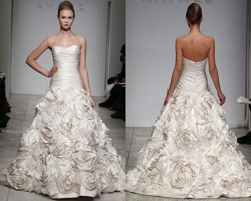 Amsale Blue Label Bridal Collection. LOVE. If the other Amsale looks bad on me it's this one!