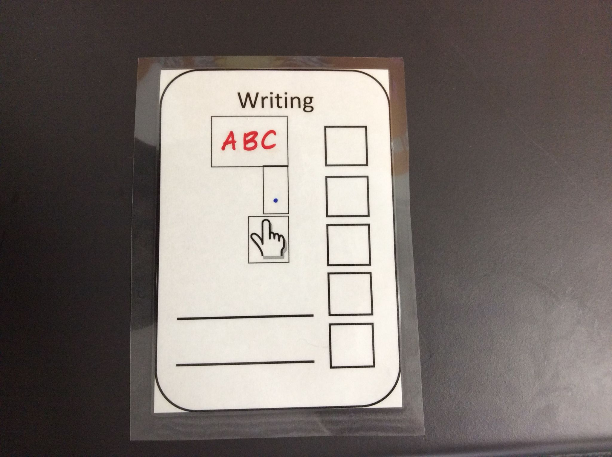 Writing Checklist For Capital Letters Full Stops And