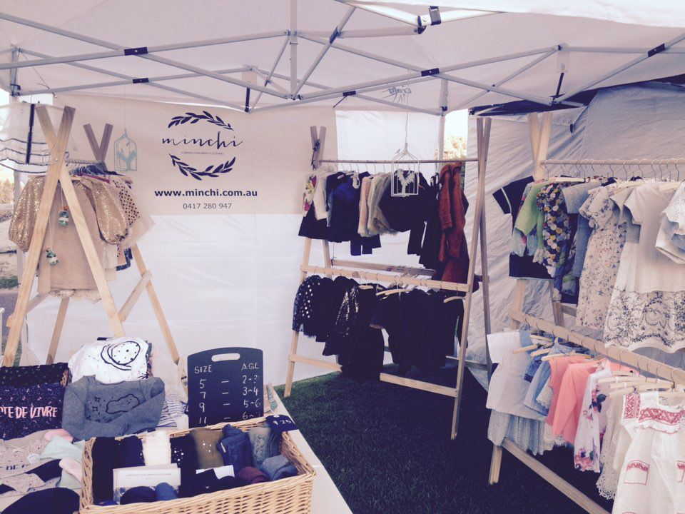 Such Fun Having A Market Stall Clothing Booth Display Market