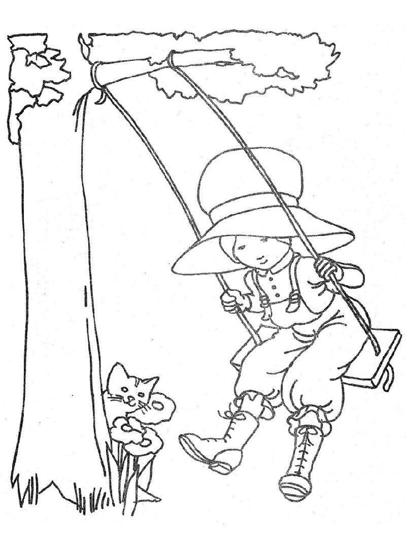 Holly Hobbie S Favorite Places Vintage Coloring Books Coloring Books Coloring Book Pages