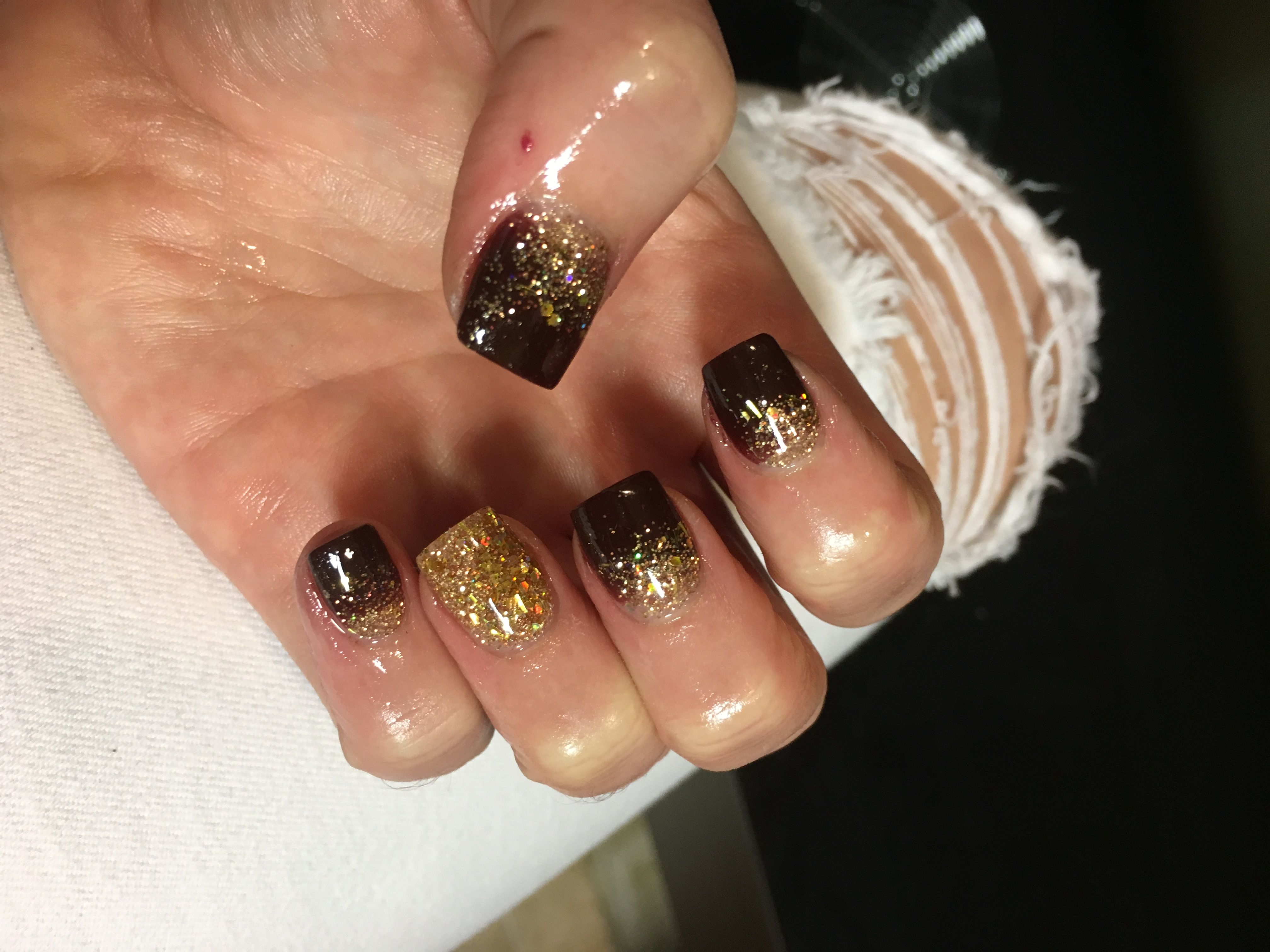 Nexgen Nail Dip Ombre Glitter For Christmas 2017 2018 Winter With