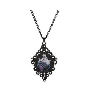 New Disney Parks Magic /& Mischief  Little Mermaid Jewels Ursula Pendant Necklace