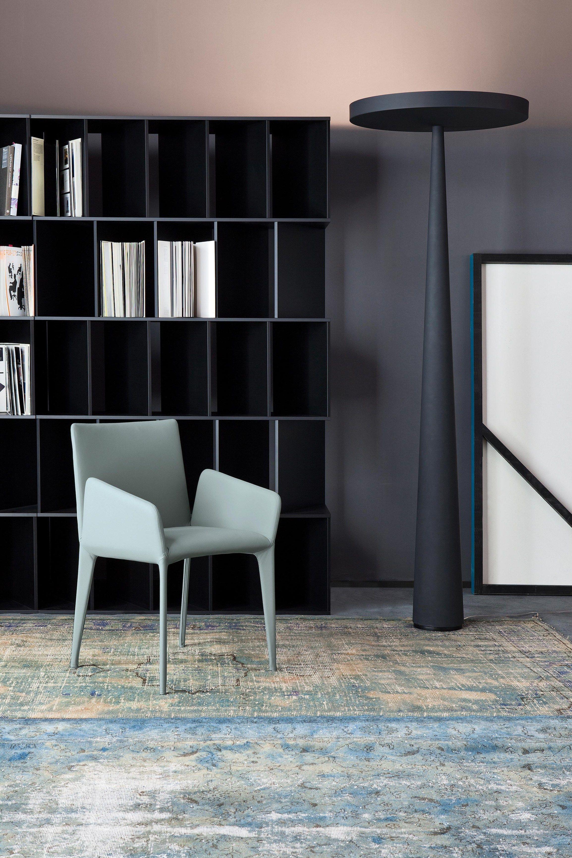 Chaise rembourrée avec revêtement amovible FILLY Collection Filly by Bonaldo | design Bartoli Design
