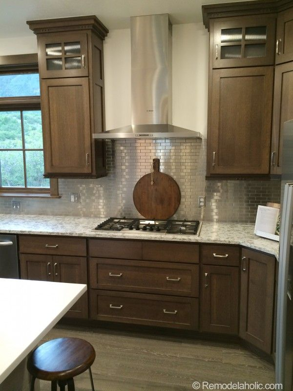 Utah Valley Parade Of Homes Walnut Kitchen Cabinets Replacing Kitchen Countertops Walnut Kitchen