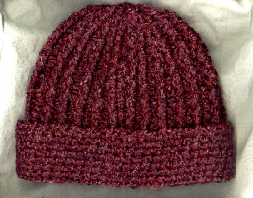 Easy Crochet Ribbed Hat Patterns : Crochet Hat Patterns on Pinterest Hat Patterns, Crochet ...