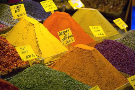 spice market in Turkey