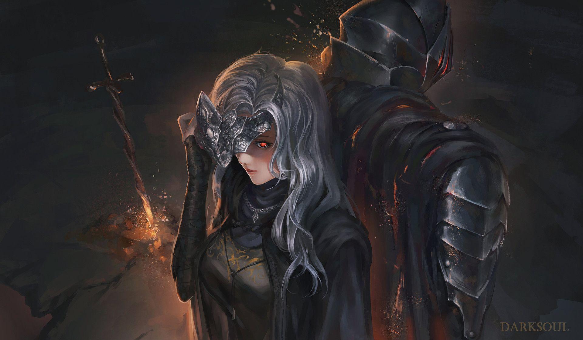 Artstation Firekeeper Ushas Aditra Dark Souls Art Dark Souls