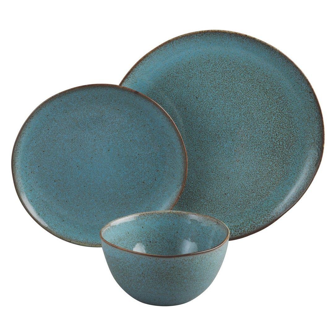 Habitat - Olmo Turquoise 12 Piece Dinner Set   Decorate Kitchen ...